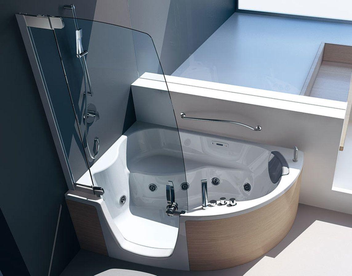 Neue Kombiwanne für alle Lebensphasen Badezimmer klein