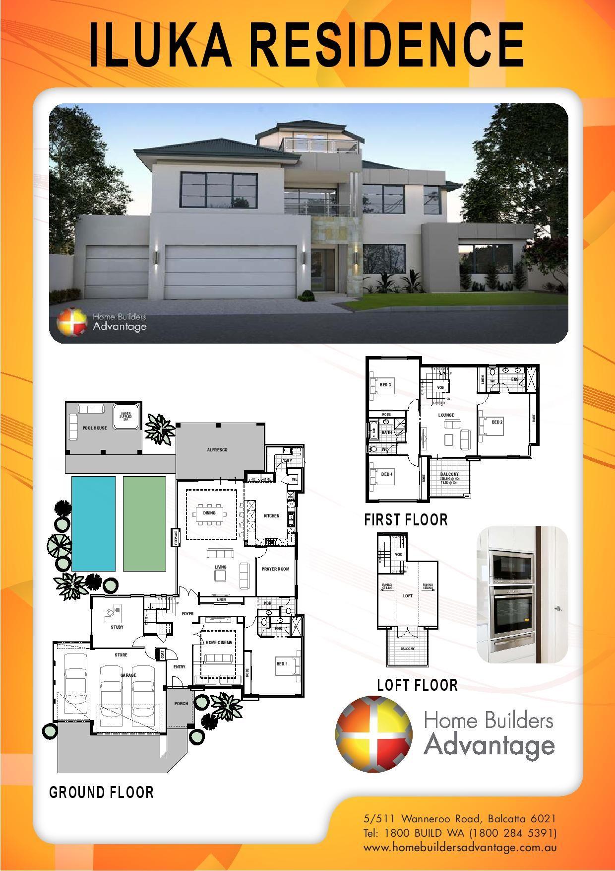 Home Builders Advantage Perths Biggest Building Broker Three – Advantage Home Builders Floor Plans