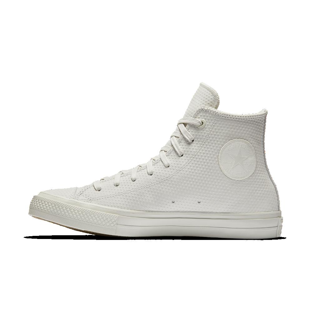 2b7caa38d6d Converse Chuck II Lux Leather High Top Shoe Size 11.5 (Cream ...
