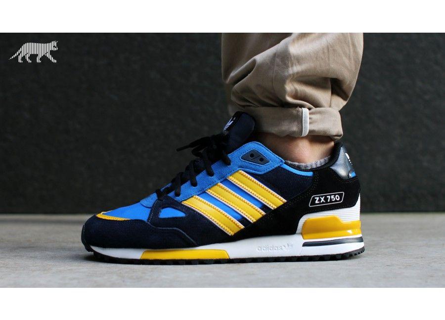 adidas zx 750 dunkelblau