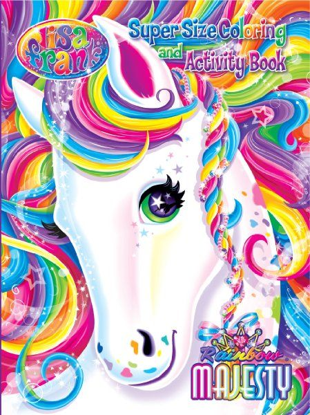 Lisa Frank Still My Favorite Coloring Book I Have This One And Love It Love Her Stickers Too Lisa Frank Stickers Lisa Frank Unicorn Lisa Frank