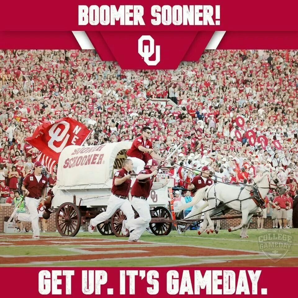 Boomer! Boomer sooner, Ou football, University of oklahoma