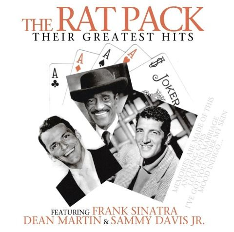 The Rat Pack - Frank Sinatra, Dean Martin, Sammy Davis