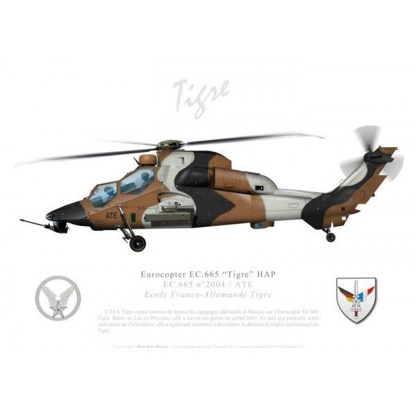 """Eurocopter EC.665 """"Tigre"""" HAP, Ecole Franco-Allemande Tigre"""