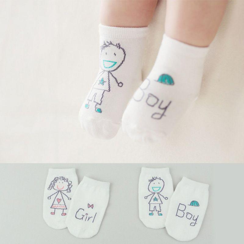 Bebê Dos Desenhos Animados Anti-slip Meias de Algodão Unisex Da Criança Meias Meias Chão Infantis Meninos Meninas Gato Perna Aquecedores de Resistência À Derrapagem