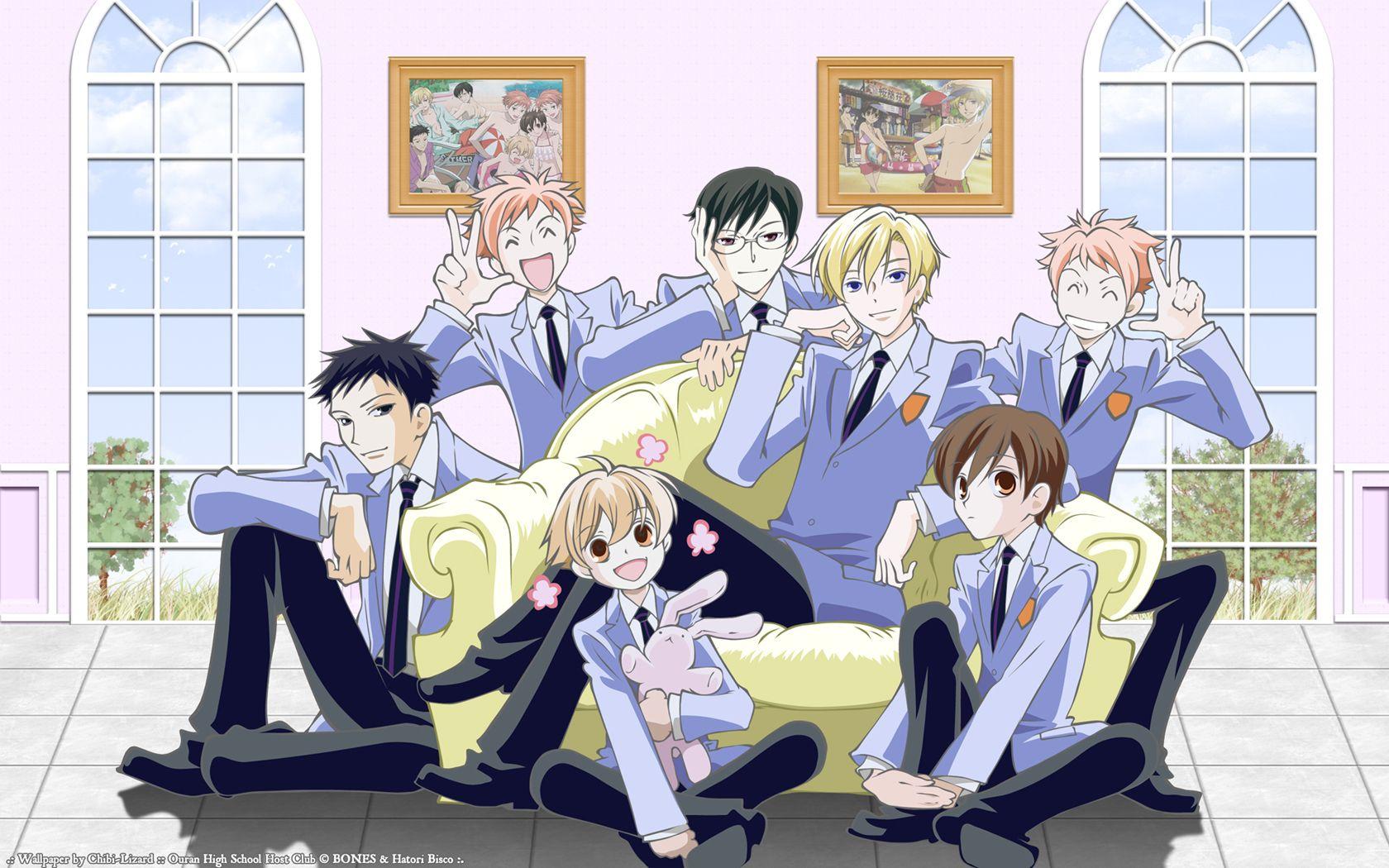 Ouran High School Host Club Wallpaper Page 2 Zerochan Anime