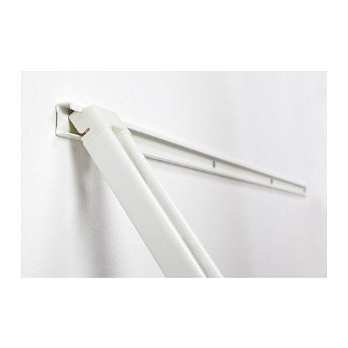 IKEA ALGOT White Suspension rail | Ikea | Algot, Ikea algot
