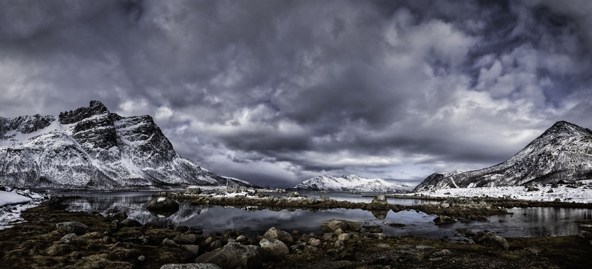 Looking Down The Fjord by Nigel Jones on 500px
