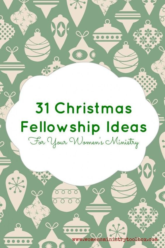 Christmas Party Ideas For Church Part - 21: 31 Christmas Fellowship Ideas