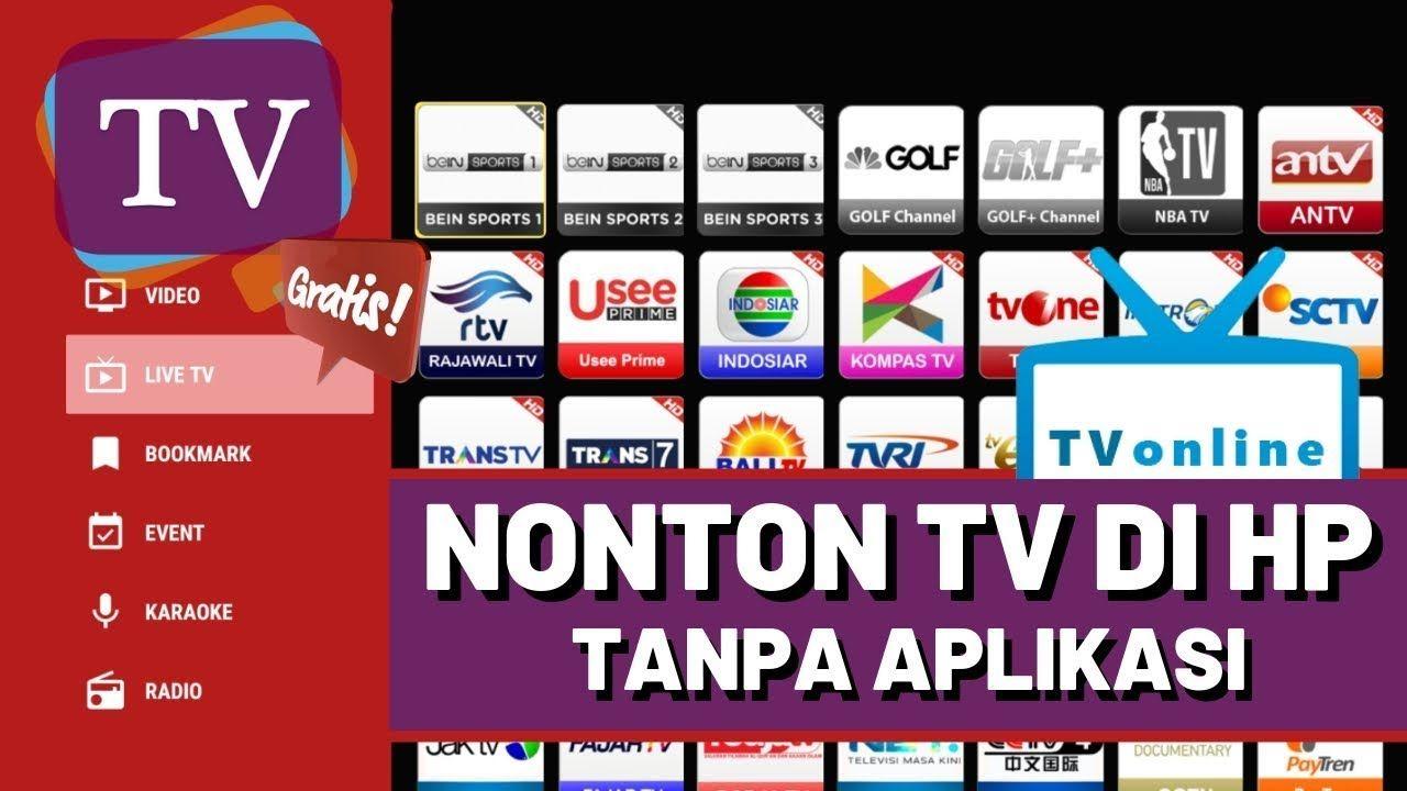 Cara Nonton TV Di Android Tanpa Aplikasi Aplikasi
