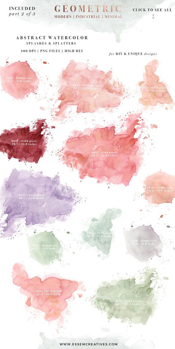 8 Splatter Brushes For Photoshop Abstract Photoshop Splatter