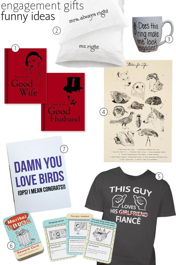 56 Engagement Gift Ideas   Engagement, Gift and Grooms