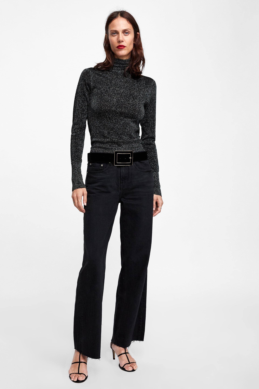 23dc3158cb JEANS ZW PREMIUM CITY WORKER BLACK | clothes | Zara jeans, Jeans ...