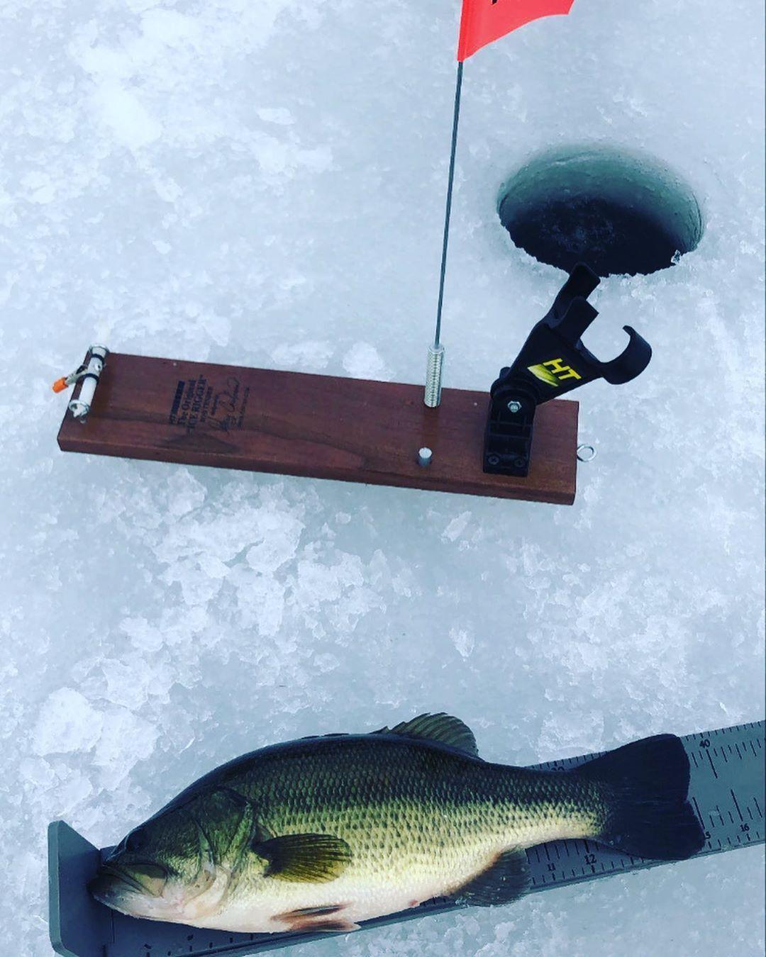 HT Rod Holder Tip Up in 2020 Winter fishing, Rod holder