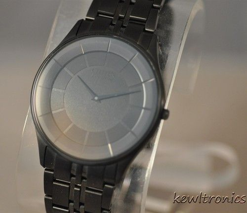 New Citizen Men's AR3015-53E Eco-Drive Stiletto Black Ion Plated Slim Thin Watch - http://mostbidded.com/ads/new-citizen-mens-ar3015-53e-eco-drive-stiletto-black-ion-plated-slim-thin-watch