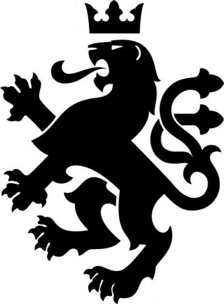 Heraldic Lion Google Search Lion Vector Lion Design