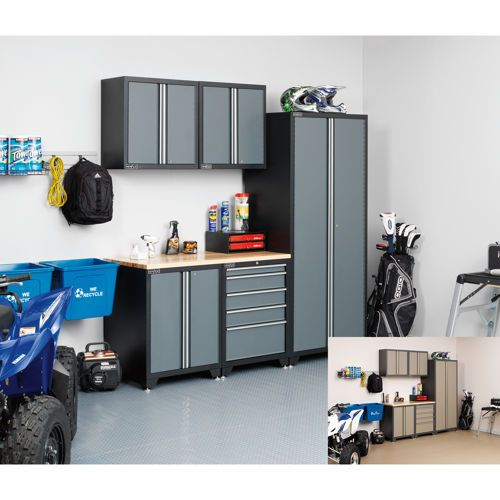 NewAge Products 6-Pc Professional series Metal Garage Storage Cabinets -  $1999.99 - NewAge Products - Garage Storage Cabinets Costco Cymun Designs