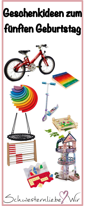 Geschenkideen Zum 5 Geburtstag Leben Mit Kindern Pinterest Baby