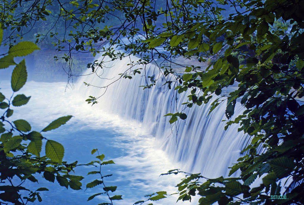 Natural frame: the waterfall   waterfall   Pinterest   Photos
