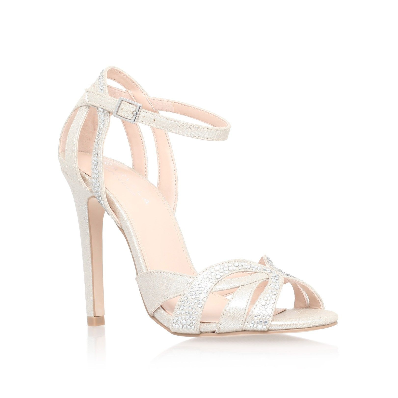 Lana Silver High Heel Sandals From Carvela Kurt Geiger