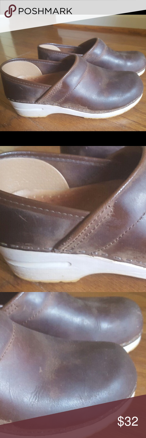 Dansko brown leather clogs 37 Very good condition. Leather. Dansko brand. 37 Dansko Shoes Mules & Clogs
