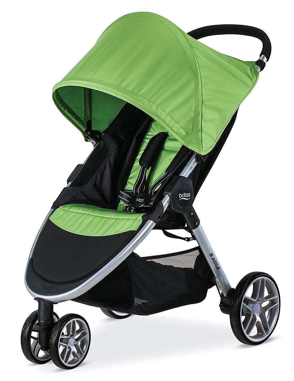 Britax 2017 BAgile Stroller, Black Baby