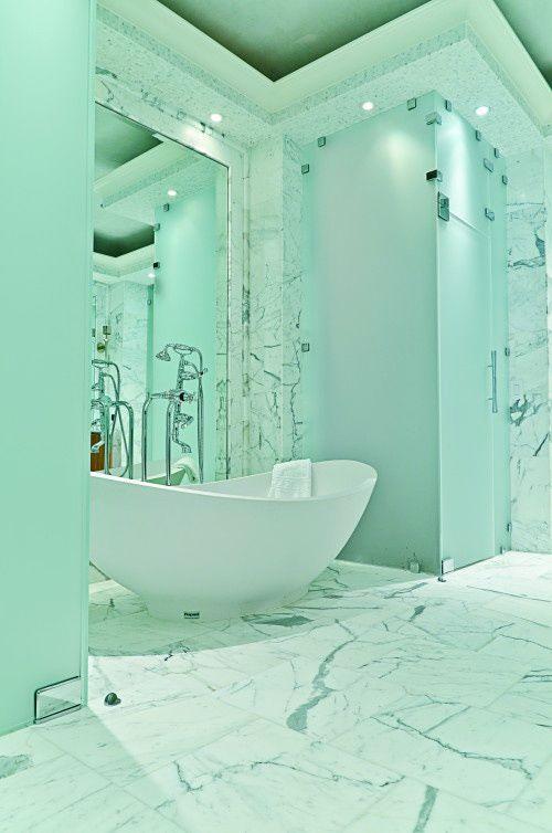 Bathroom Designs Marble 25 luxurious marble bathroom design ideas | mint green, bathroom