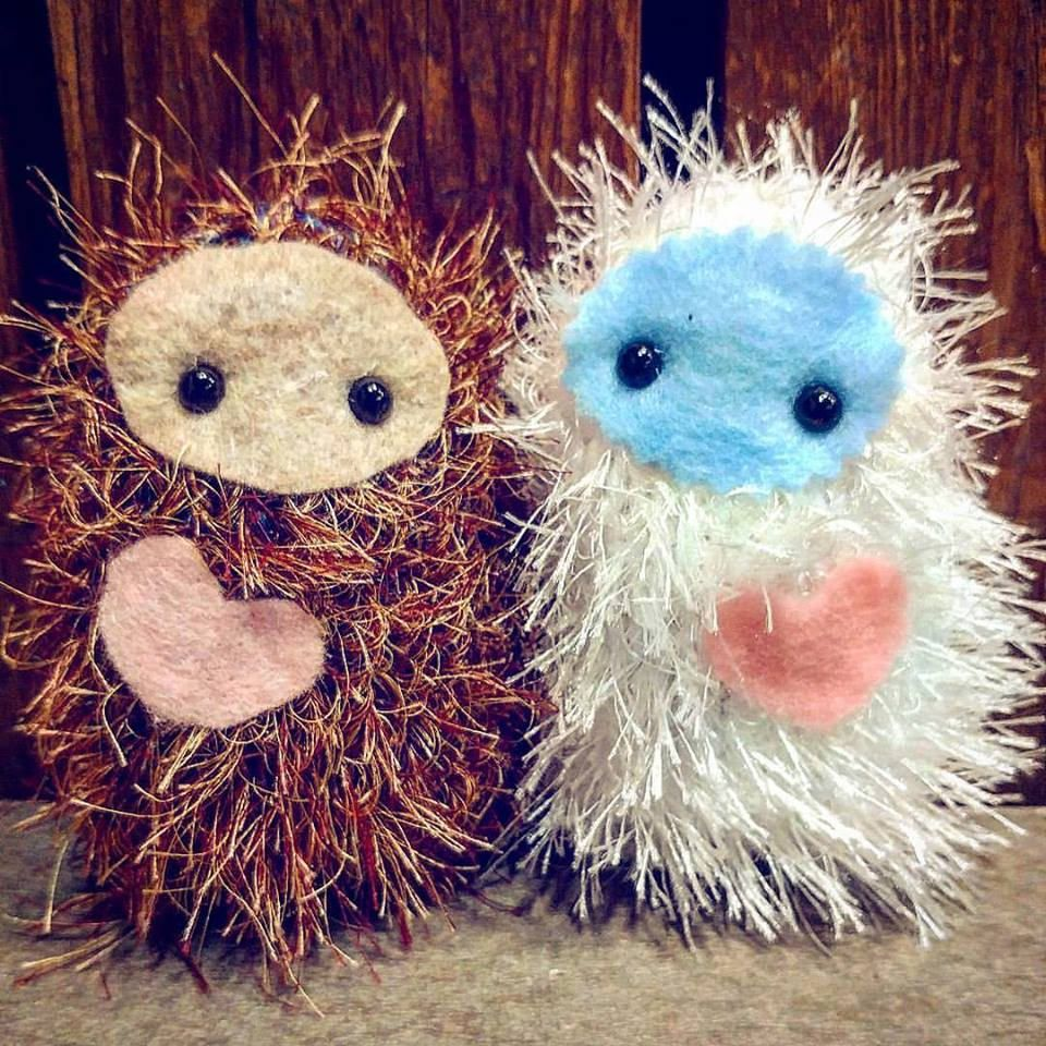 Knitting PATTERN - DIY knit your own Squatchie!! Bigfoot Sasquatch ...