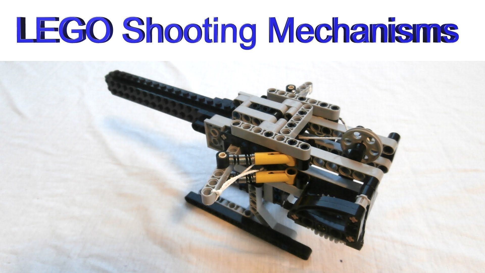 Cool Machines To Build How To Build Automatic Lego Shooting Mechanisms For Lego