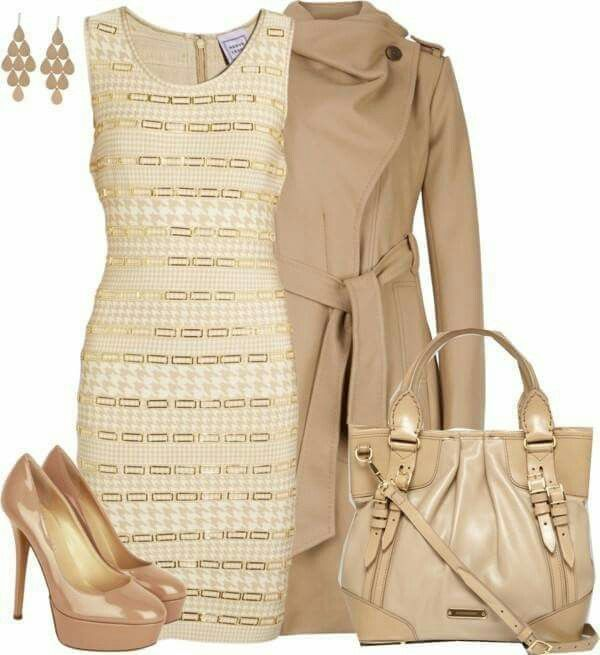 Beige Outfit ...