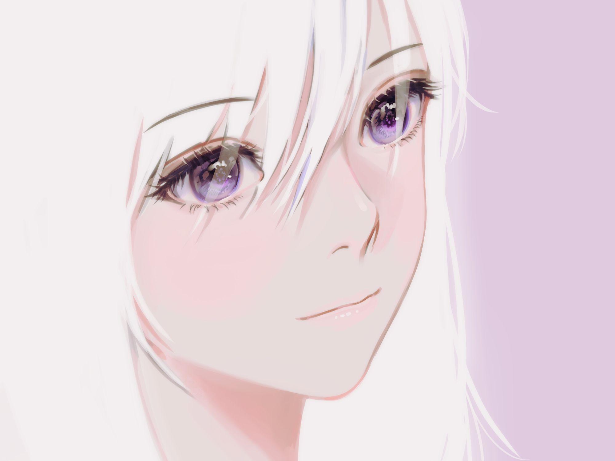 Pinterest In 2020 Long Hair Styles Violet Eyes Purple Eyes