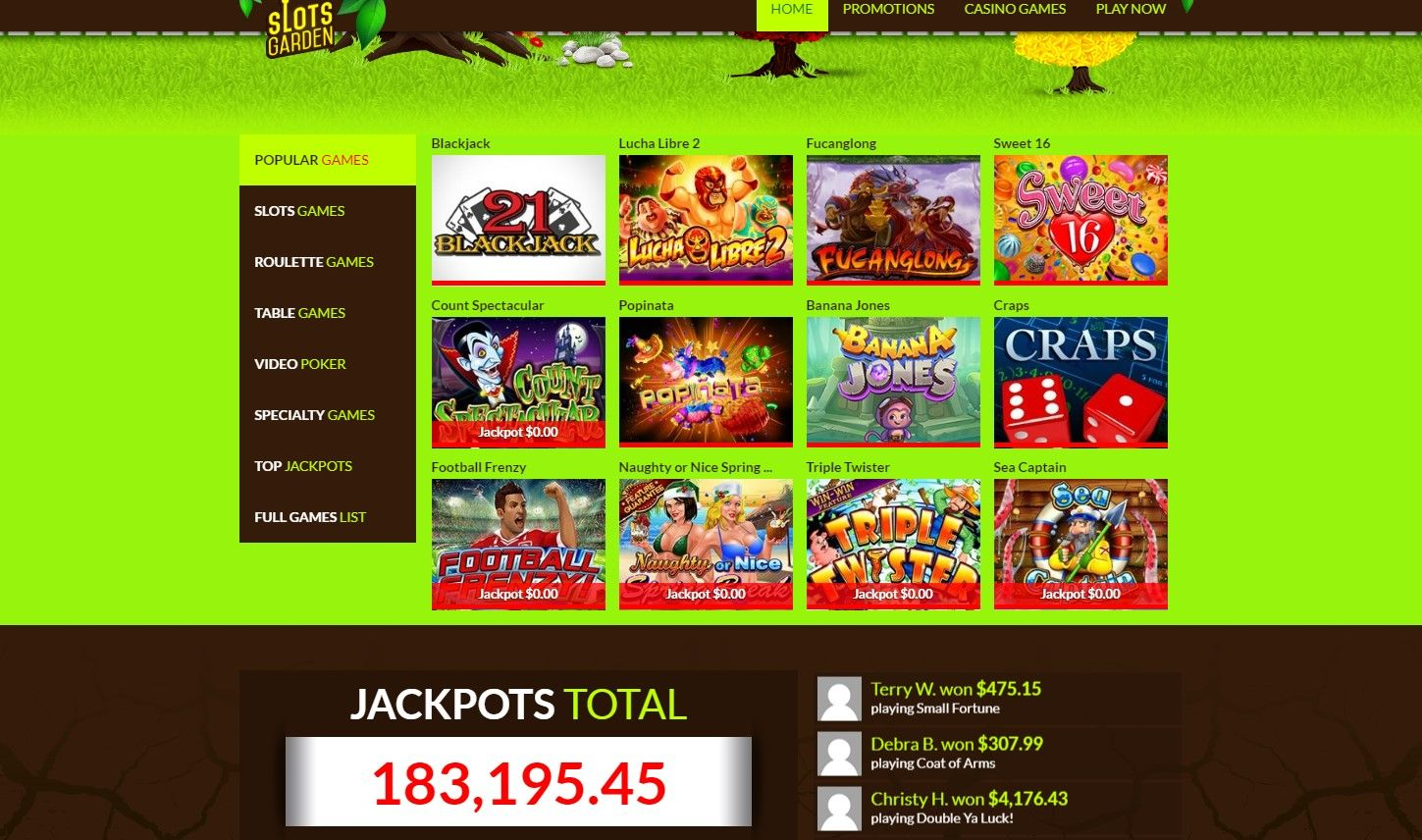 Awesome 20 Pics Slots Garden Payout Review And Description