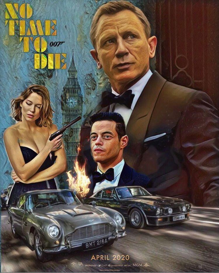 No Time To Die James Bond Movie Posters James Bond Movies Bond Movies