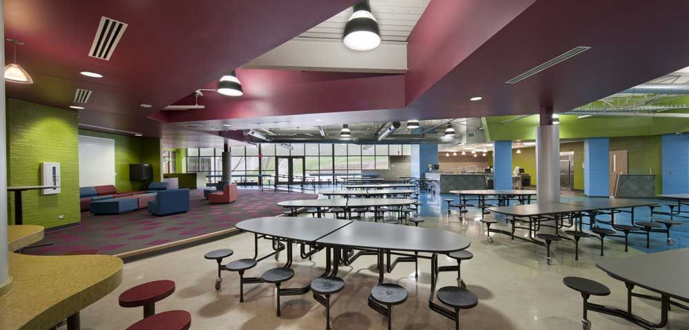 high school cafeteria google search