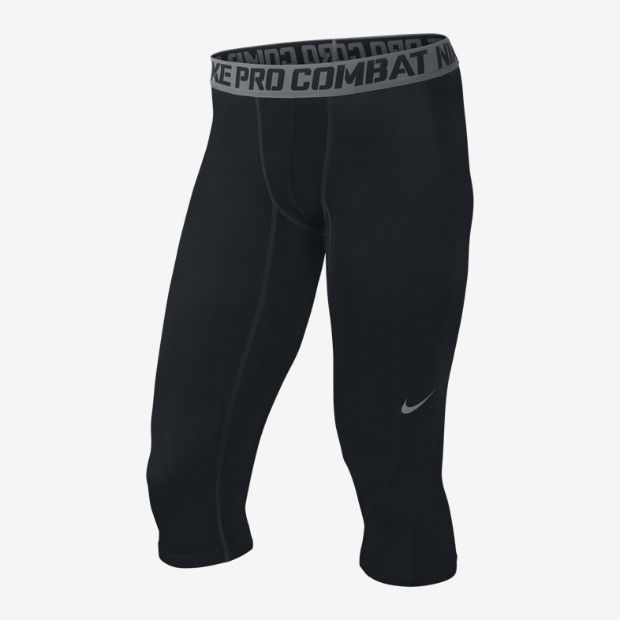 f25a7848 Nike Pro Combat Core Compression 3/4 Men's Tights Champs Sports Authority