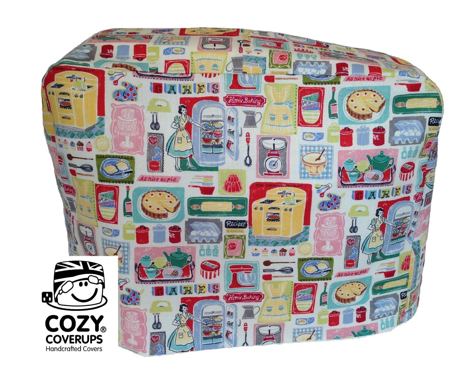 Kenwood Chef CozyCoverUp® Food Mixer Cover 50's Baking