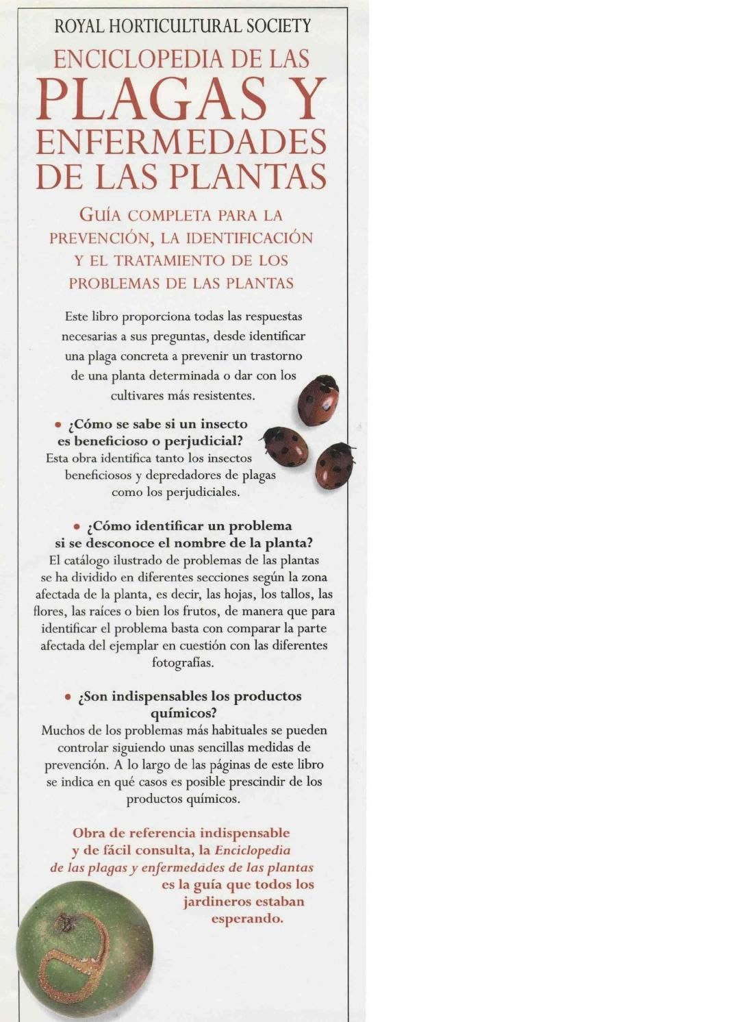 Plantas Enciclopedia De Las Plagas Y Enfermedades De Las Plantas Plagas En Las Plantas Plagas Plantas
