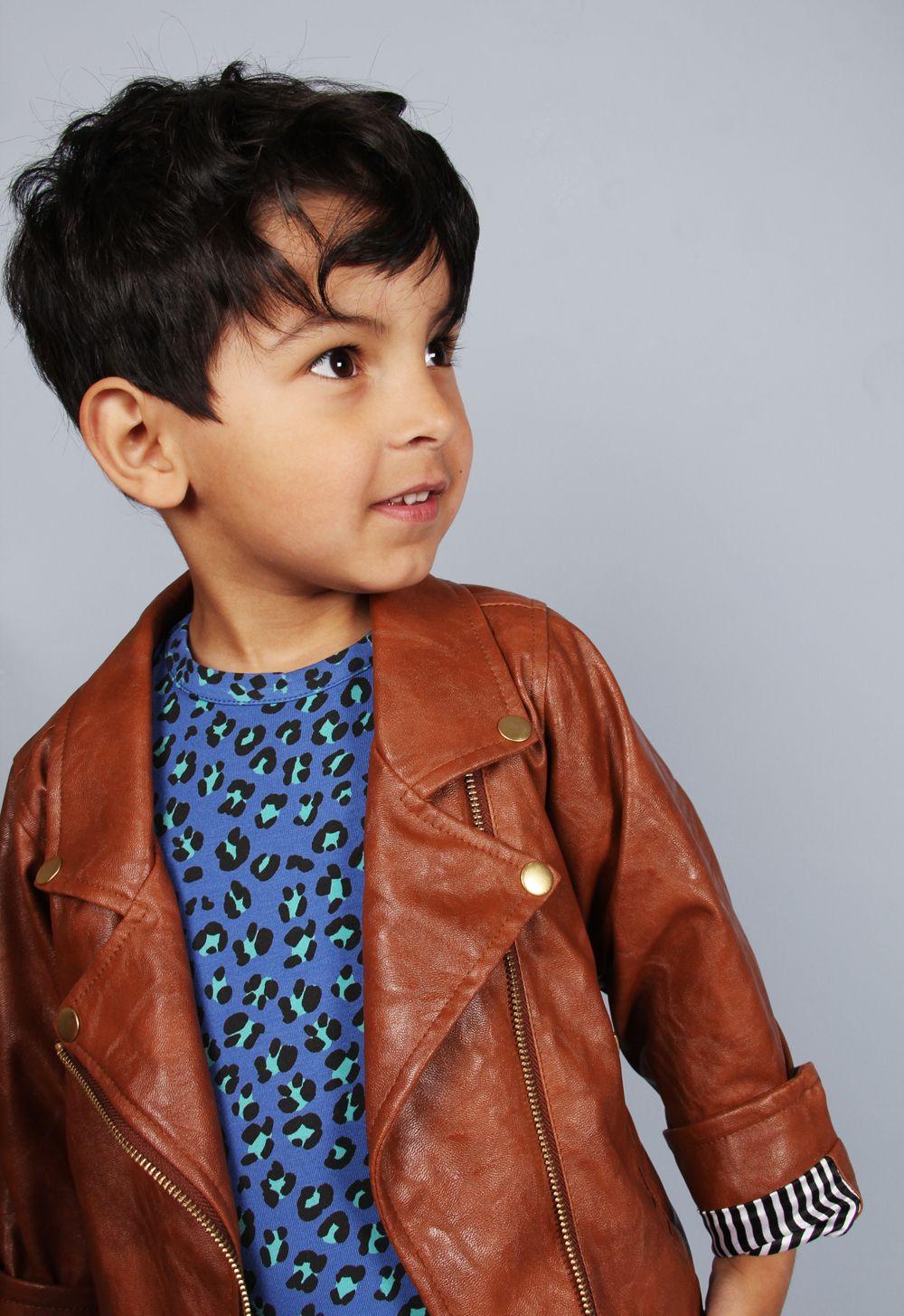 Brown Biker Jacket Mini Rodini Mini Rodini Kids Fashion Clothes Kids Outfits [ 1455 x 1000 Pixel ]