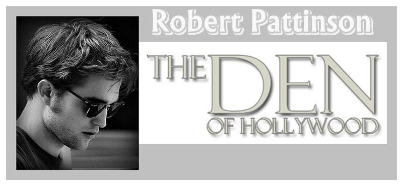 Robert Pattinson Saindo Do The Den Of Hollywood Co...