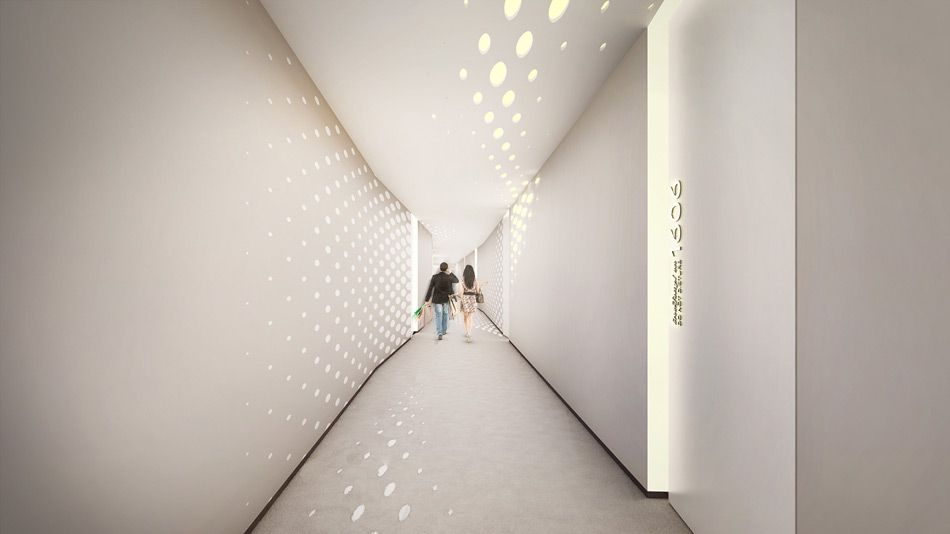 zaha hadid designs interiors for dubai\'s opus office tower | Guest ...