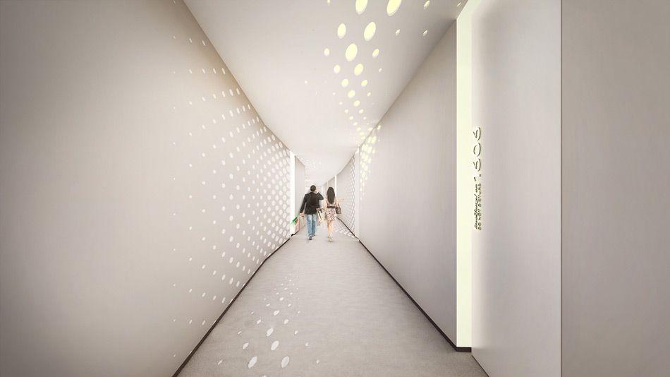 zaha hadid designs interiors for dubai's opus office tower | guest, Innenarchitektur ideen