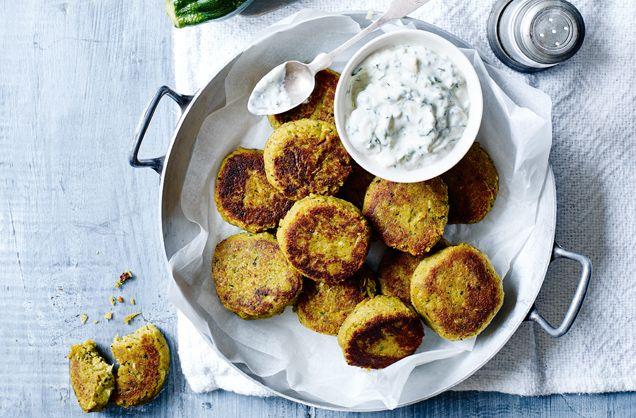 Courgette Falafels | Falafel Recipes | Tesco Real Food