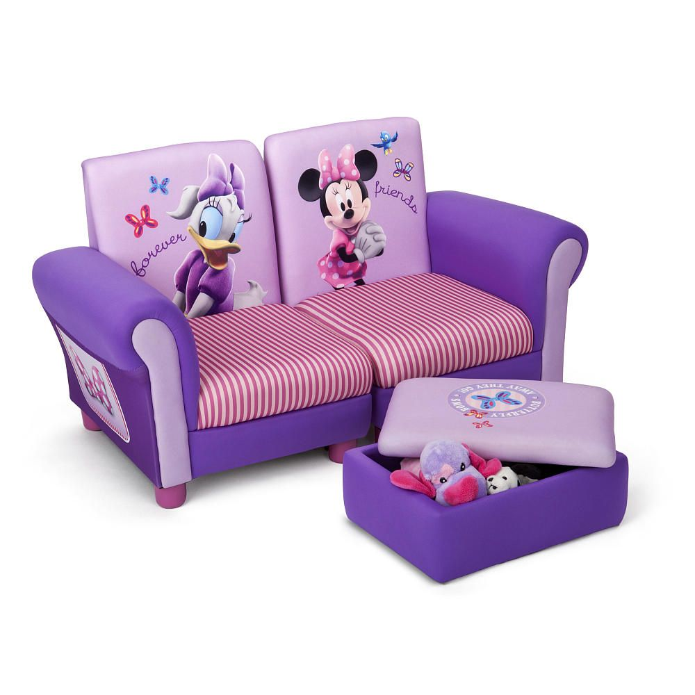 Terrific Disney Minnie Mouse Sofa And Ottoman Delta Toys R Us Pdpeps Interior Chair Design Pdpepsorg