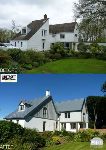 Farmhouse Remodel Before And After Exterior 55+ Ideas