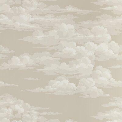 Sanderson Rotary/Gravure Wide Width Printed Wallpaper Color: Cloud