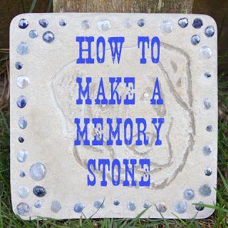 Diy Memory Stone For My Pet Diy Pet Memorial Stones 400 x 300