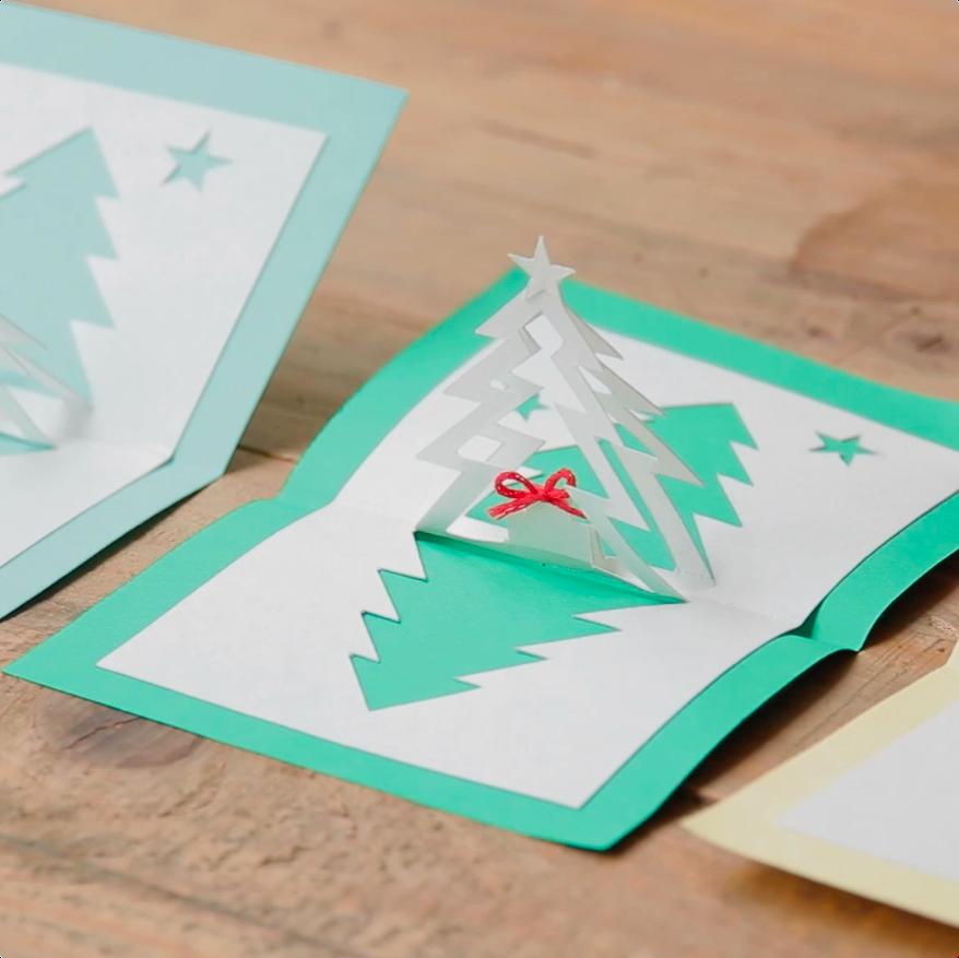 立体でかわいい 手作りクリスマスカード2選 Mama ママタス クリスマス 手作り カード クリスマスカード 手作り クリスマスカード