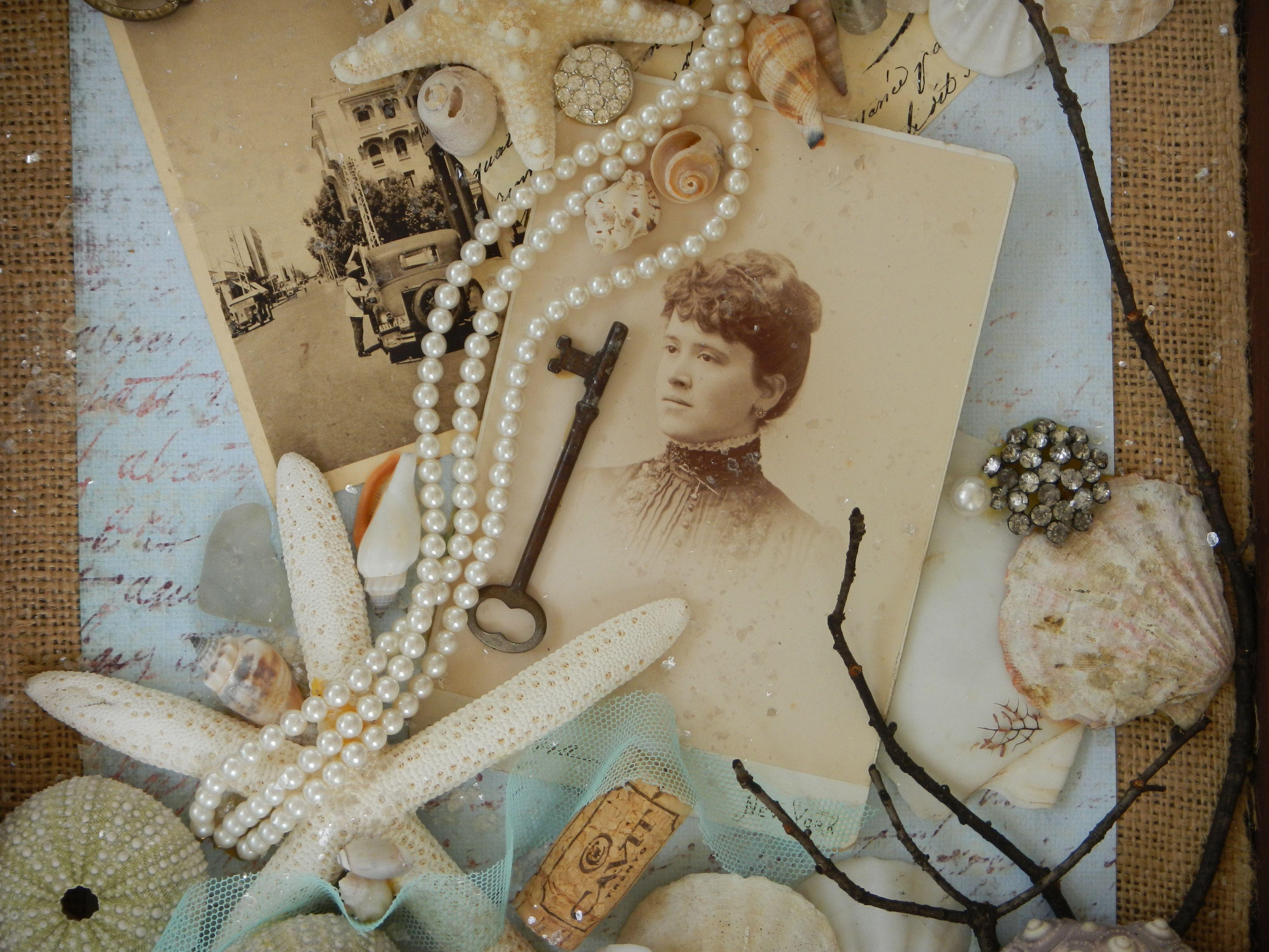 "Collage, ""A Seaside Romance"""