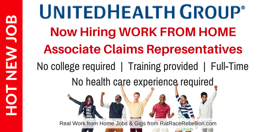 Exciting New Work from Home Opportunity with UnitedHealth