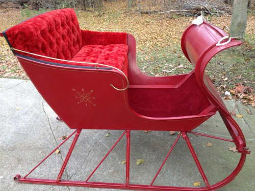 Outdoor Christmas Sleigh For Sale.Cutter Perfect Condition Sleigh Cutter For Sale Otsego
